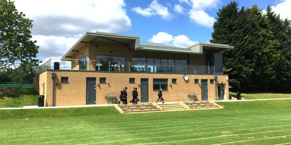 Hero - Case Study - Trinity School Sports Pavilion