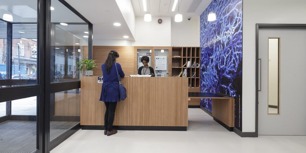 Hero - Case Study - UCL Rayne Centre